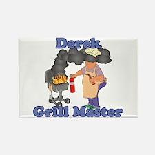 Grill Master Derek Rectangle Magnet