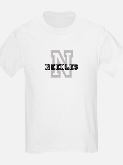 Needles (Big Letter) Kids T-Shirt