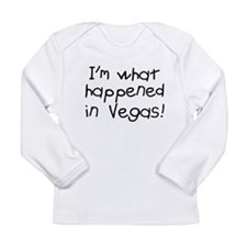 Im what happened in Vegas Long Sleeve Infant T-Shi