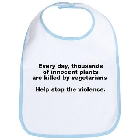 Stop Plant Violence Bib