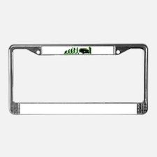 Limo Driver License Plate Frame