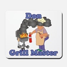 Grill Master Don Mousepad