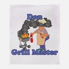 Grill Master Don Throw Blanket