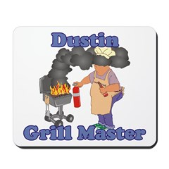 Grill Master Dustin Mousepad