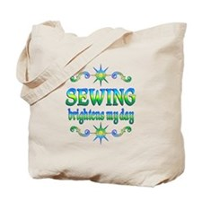 Sewing Brightens Tote Bag