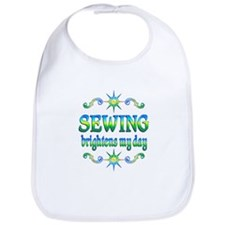 Sewing Brightens Bib
