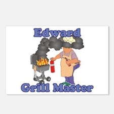 Grill Master Edward Postcards (Package of 8)