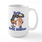 Grill Master Erik Large Mug