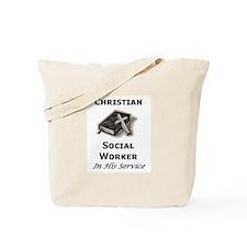 Christian Social Worker Tote Bag