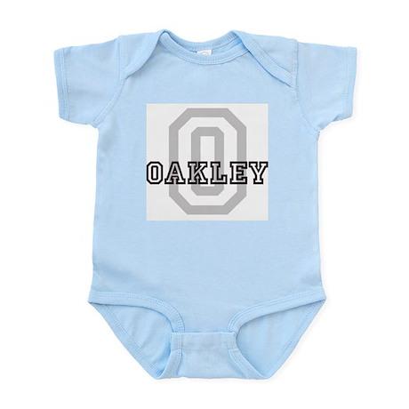 Oakley (Big Letter) Infant Creeper