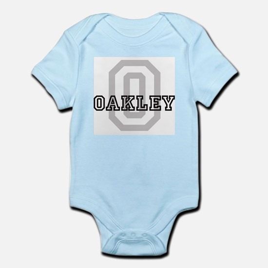 Oakley (Big Letter) Infant Creeper