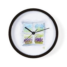 Window #3 Wall Clock