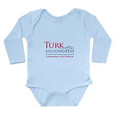 Cute Turks Long Sleeve Infant Bodysuit