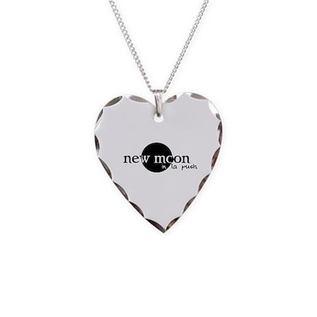New Moon in La Push Necklace Heart Charm