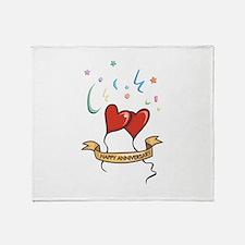 Anniversary Throw Blanket