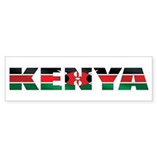 Kenya Bumper Sticker