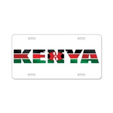 Kenya Aluminum License Plate