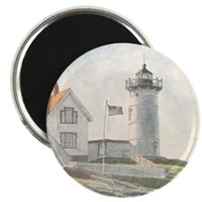 Nubble Light Watercolor Magnet