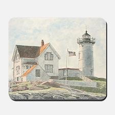 Nubble Light Watercolor Mousepad