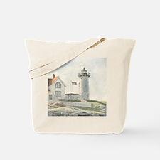Nubble Light Watercolor Tote Bag