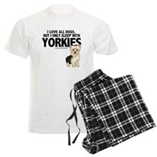 I Sleep with Yorkies Pajamas