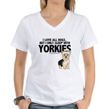 I Sleep with Yorkies Shirt