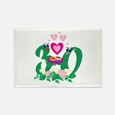 30th Celebration Rectangle Magnet (100 pack)