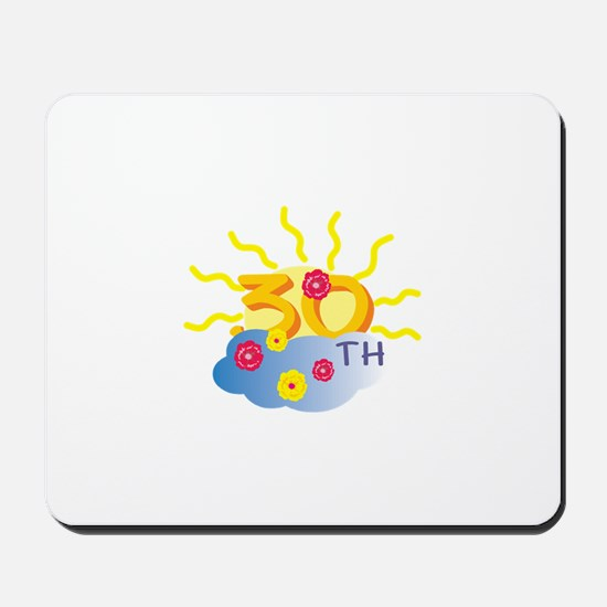 30th Celebration Mousepad