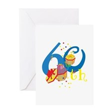 60th Celebration Greeting Card