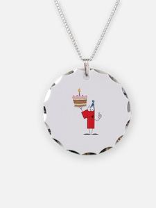 1st Celebration Necklace Circle Charm