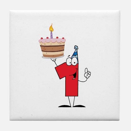1st Celebration Tile Coaster