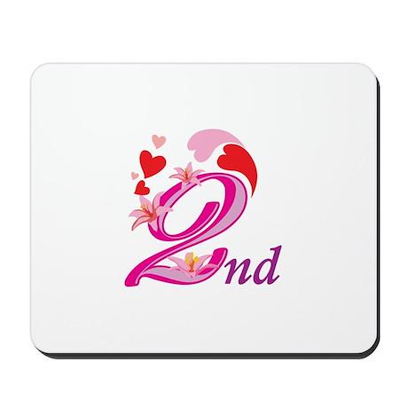 2nd Celebration Mousepad