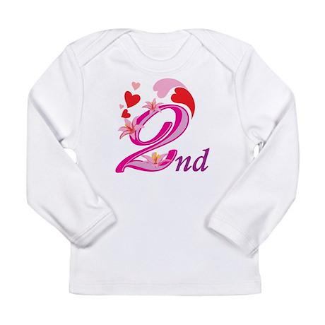 2nd Celebration Long Sleeve Infant T-Shirt