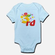 3rd Celebration Infant Bodysuit