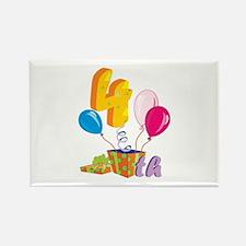 4th Celebration Rectangle Magnet (100 pack)