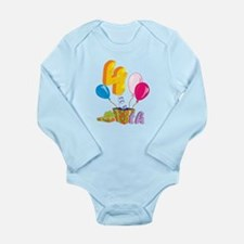 4th Celebration Long Sleeve Infant Bodysuit