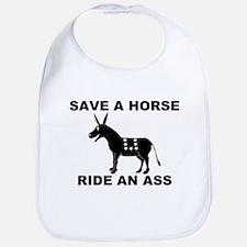 SAVE A HORSE RIDE AN ASS Bib