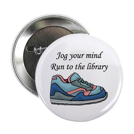 """Jog Your Mind"" 2.25"" Button (10 pack)"