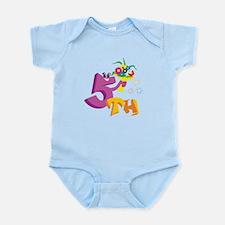 5th Celebration Infant Bodysuit