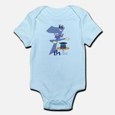 7th Celebration Infant Bodysuit