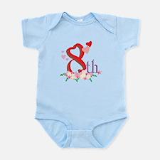 8th Celebration Infant Bodysuit
