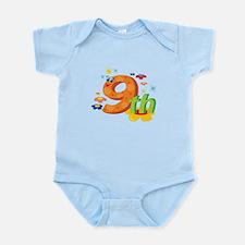 9th Celebration Infant Bodysuit