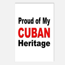 Proud Cuban Heritage Postcards (Package of 8)