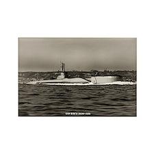 USS BAYA Rectangle Magnet