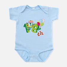 18th Celebration Infant Bodysuit