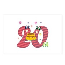 20th Celebration Postcards (Package of 8)
