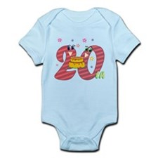 20th Celebration Infant Bodysuit
