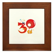 30th Celebration Framed Tile