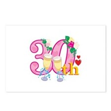 30th Celebration Postcards (Package of 8)