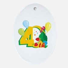 40th Celebration Ornament (Oval)